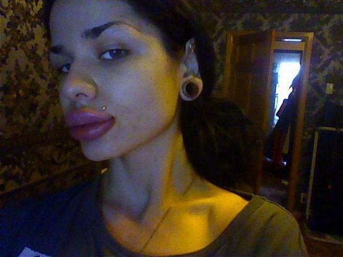 Outra bizarra transformação facial 22