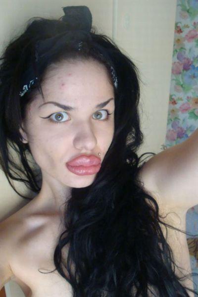 Outra bizarra transformação facial 27