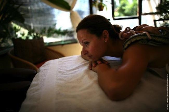 Esta massagem não é para fracos do coração 08