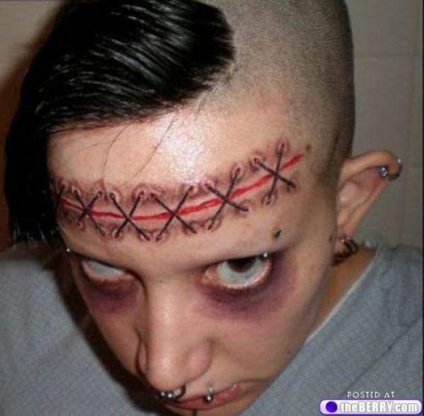 Palhaços tatuados 14