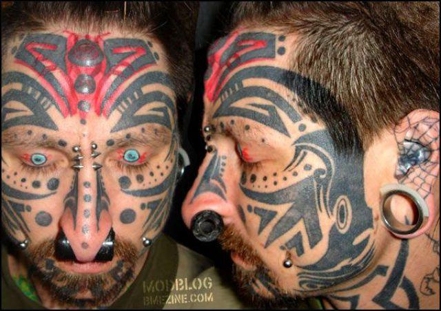 Palhaços tatuados 39