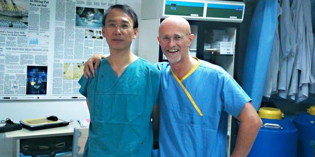 Realizam o primeiro transplante de cabeça humana em um cadáver com sucesso