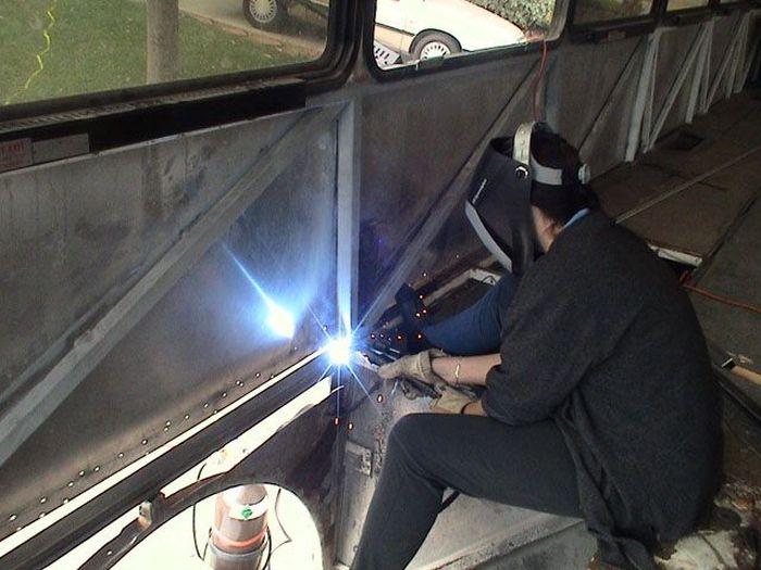 Como faz: motor-home com um ônibus velho 07