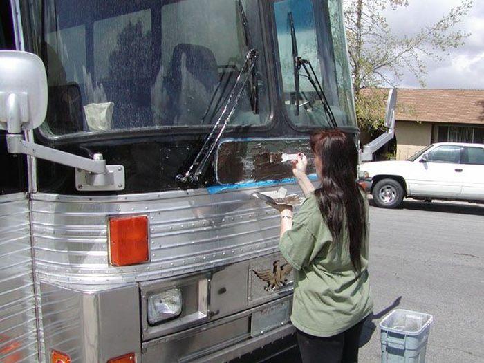 Como faz: motor-home com um ônibus velho 11
