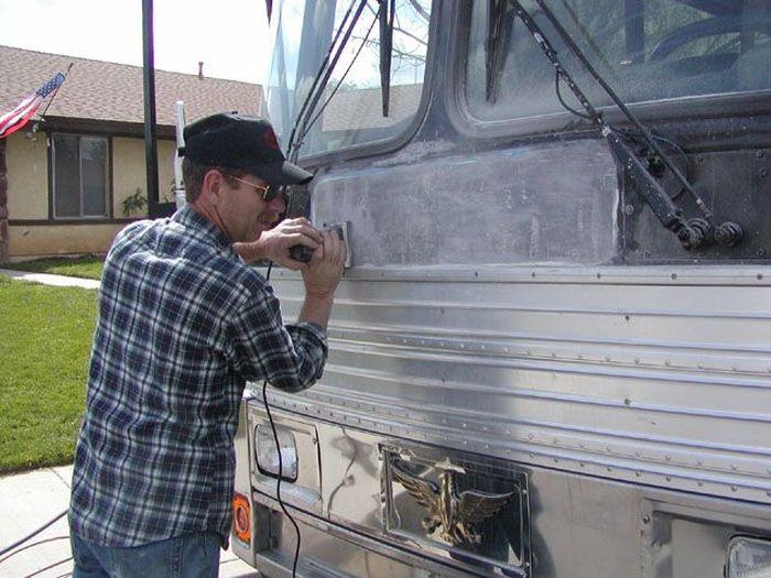 Como faz: motor-home com um ônibus velho 12