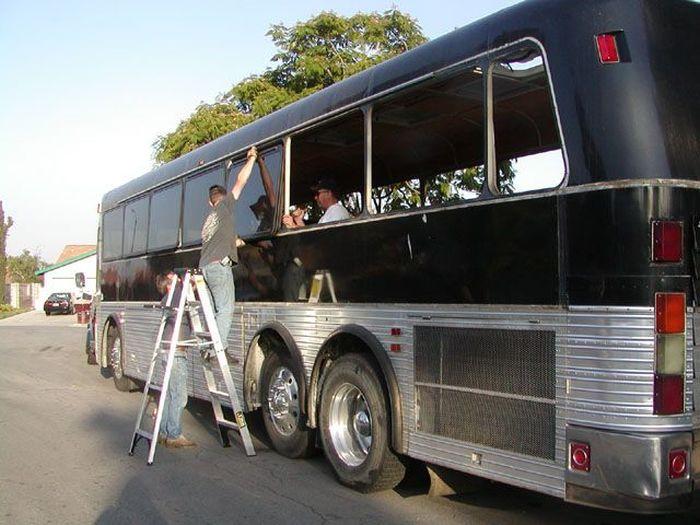 Como faz: motor-home com um ônibus velho 14