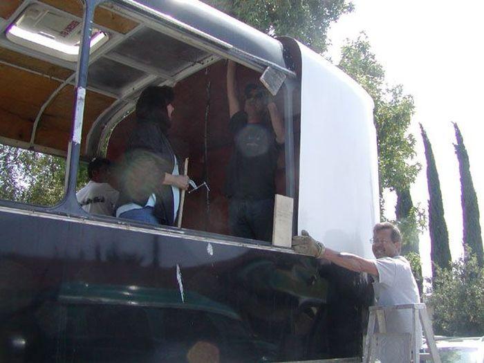 Como faz: motor-home com um ônibus velho 19
