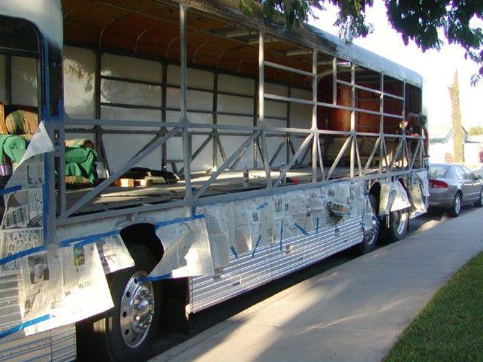 Como faz: motor-home com um ônibus velho 26