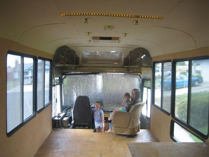 Como faz: motor-home com um ônibus velho 50