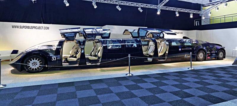Ônibus de alta velocidade pretende inovar na indústria do transporte pessoal 09