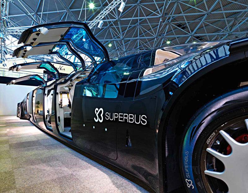 Ônibus de alta velocidade pretende inovar na indústria do transporte pessoal 12