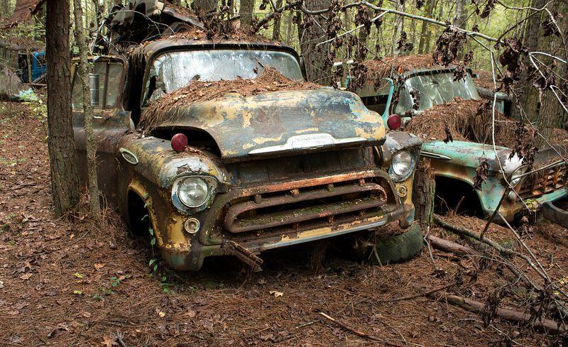 Cidade do Carro Velho: o maior cemitério de carros clássicos do mundo 04