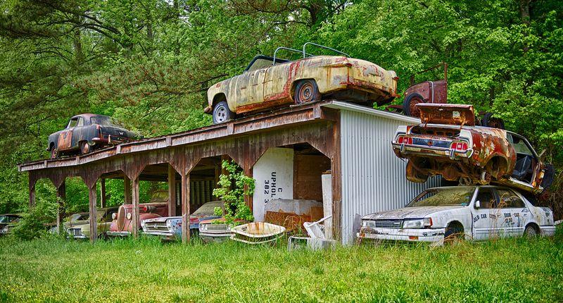 Cidade do Carro Velho: o maior cemitério de carros clássicos do mundo 10