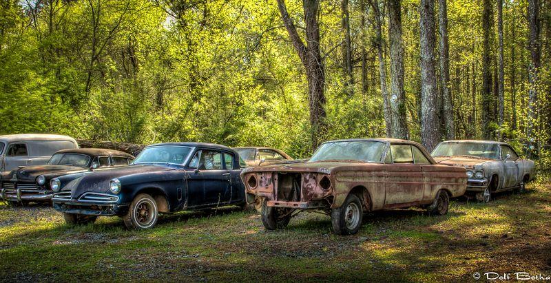 Cidade do Carro Velho: o maior cemitério de carros clássicos do mundo 12