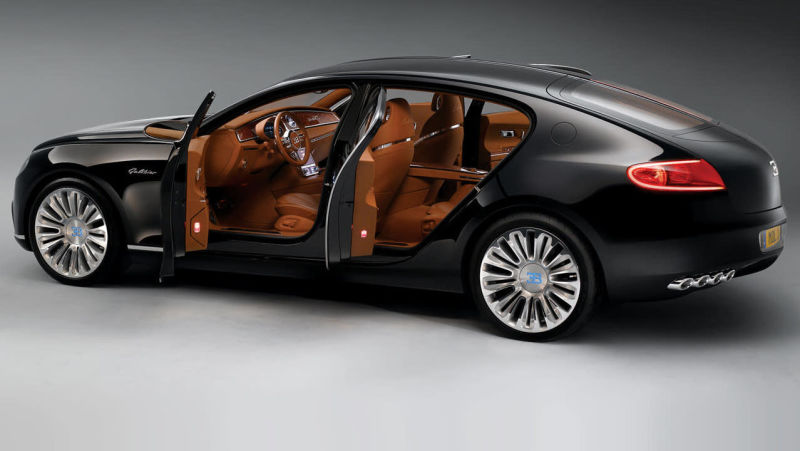 'Parece um cão salchicha': a história do Bugatti que foi cancelado no último minuto por ser feio