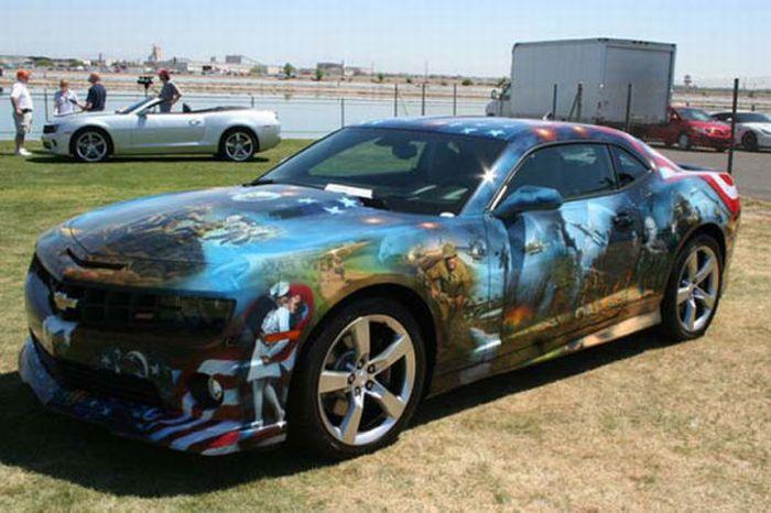 O carro mas patriota dos EUA 01