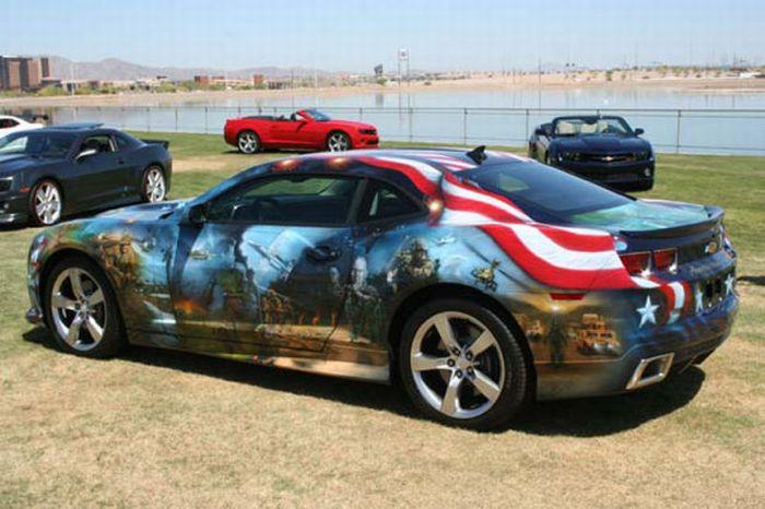 O carro mas patriota dos EUA 08