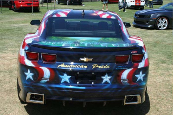O carro mas patriota dos EUA 10