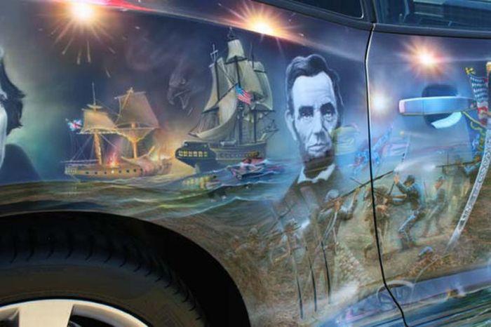 O carro mas patriota dos EUA 20