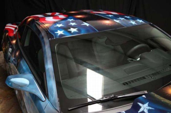 O carro mas patriota dos EUA 24