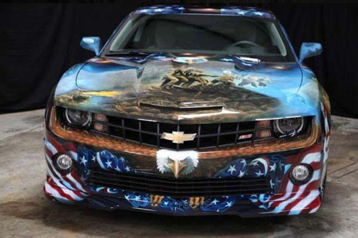 O carro mas patriota dos EUA 25