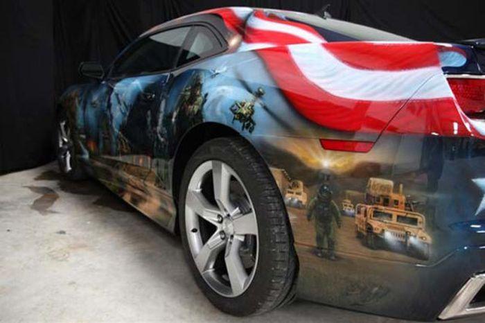 O carro mas patriota dos EUA 27