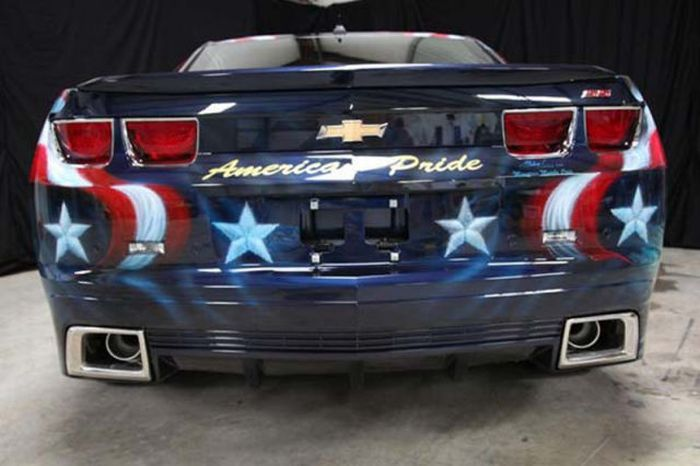 O carro mas patriota dos EUA 30