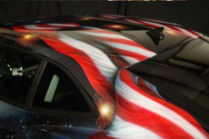 O carro mas patriota dos EUA 32