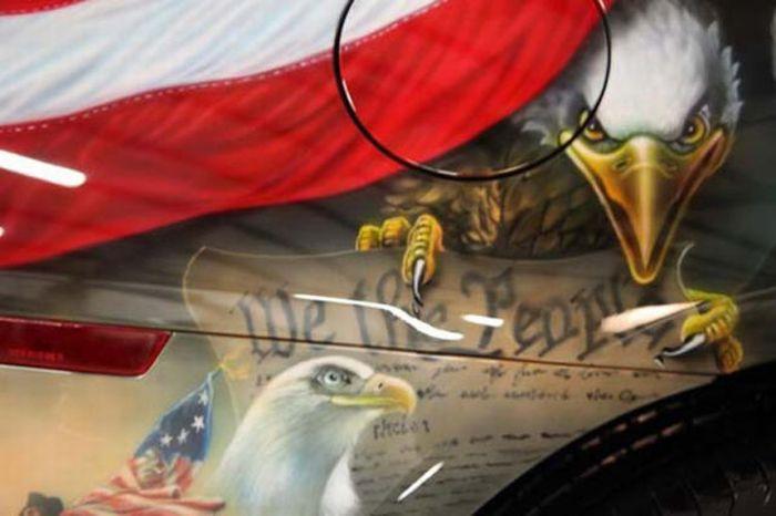 O carro mas patriota dos EUA 39