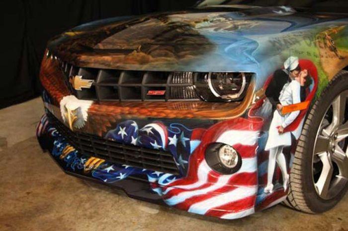O carro mas patriota dos EUA 43