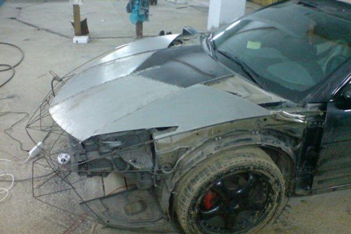 Como faz? Lamborghini Reventon genérica 03