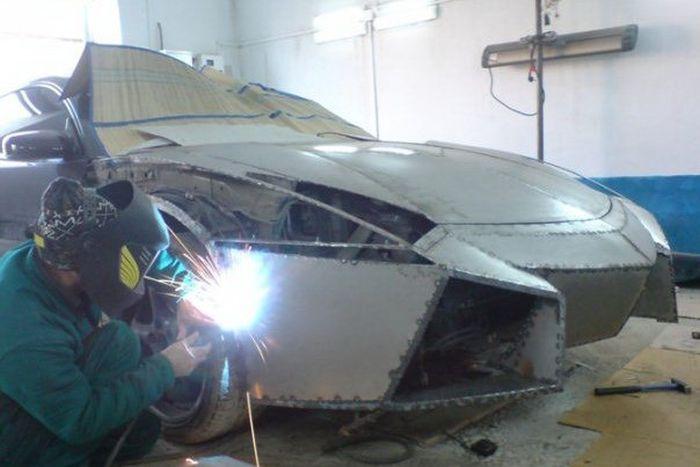 Como faz? Lamborghini Reventon genérica 10