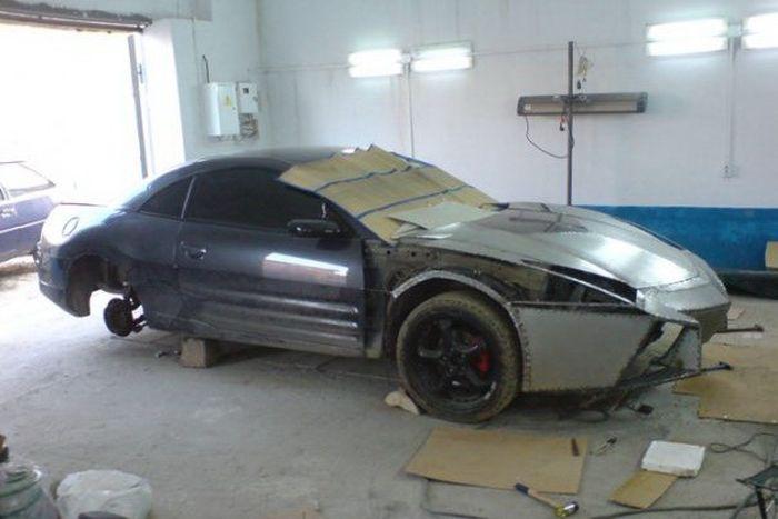 Como faz? Lamborghini Reventon genérica 11