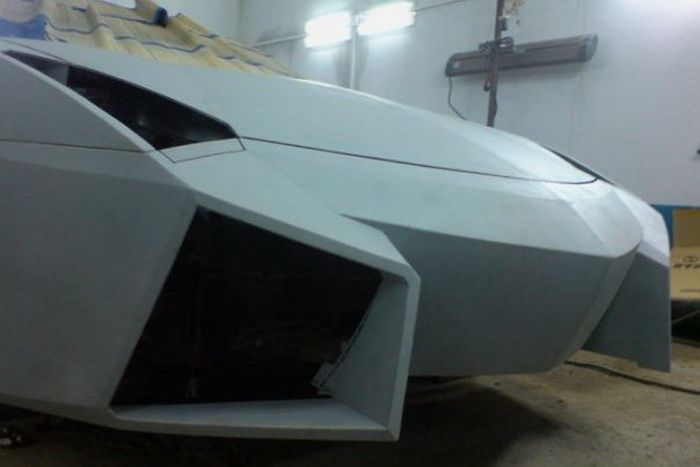 Como faz? Lamborghini Reventon genérica 18