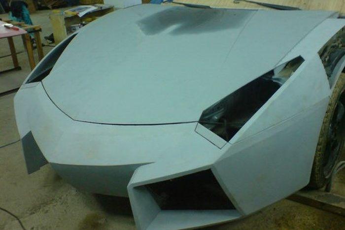 Como faz? Lamborghini Reventon genérica 20