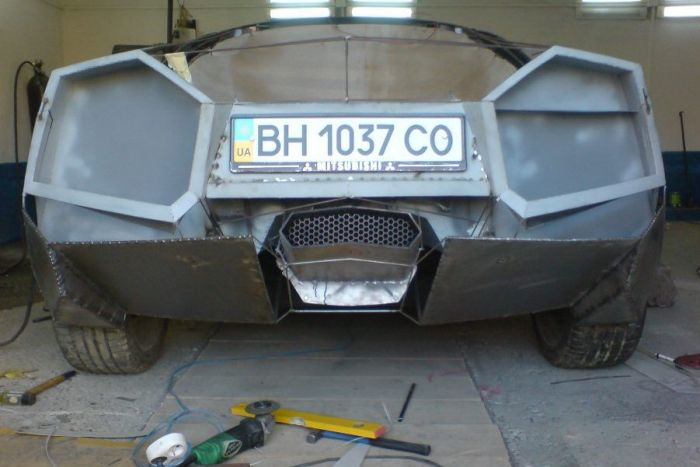 Como faz? Lamborghini Reventon genérica 24