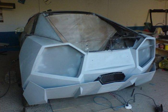 Como faz? Lamborghini Reventon genérica 27