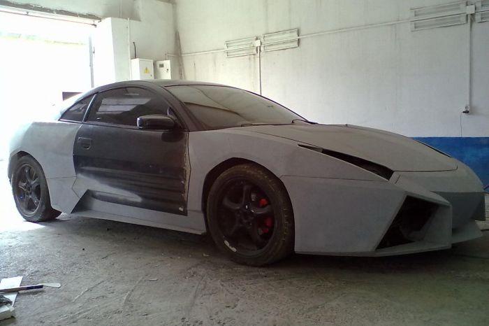 Como faz? Lamborghini Reventon genérica 32