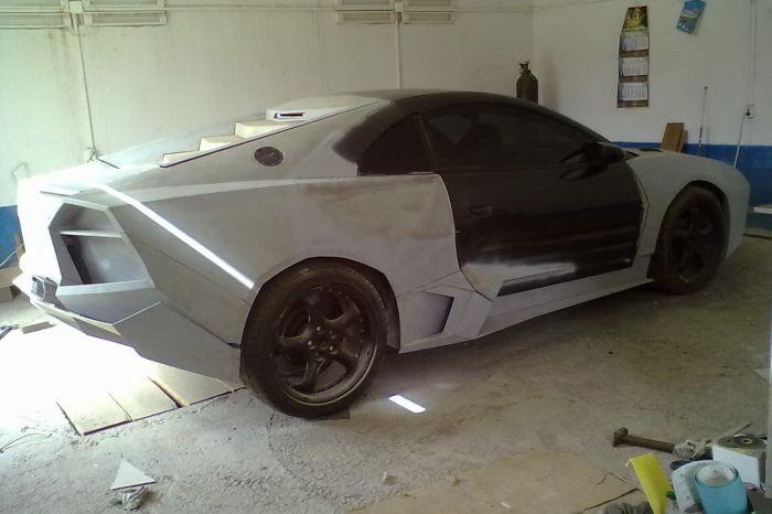 Como faz? Lamborghini Reventon genérica 33