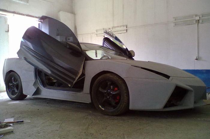 Como faz? Lamborghini Reventon genérica 34