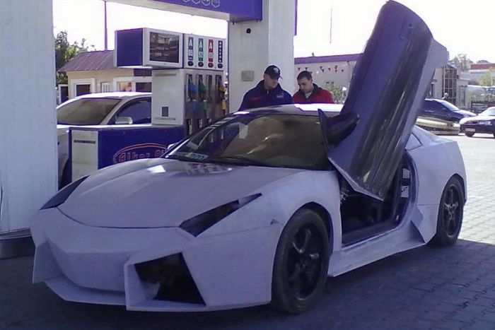 Como faz? Lamborghini Reventon genérica 36