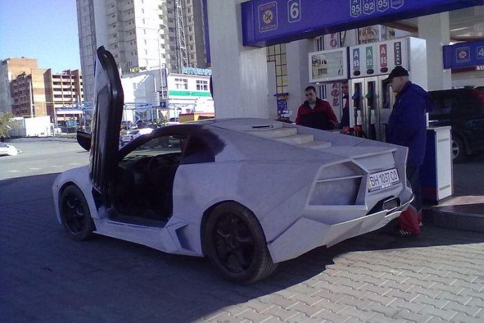 Como faz? Lamborghini Reventon genérica 37
