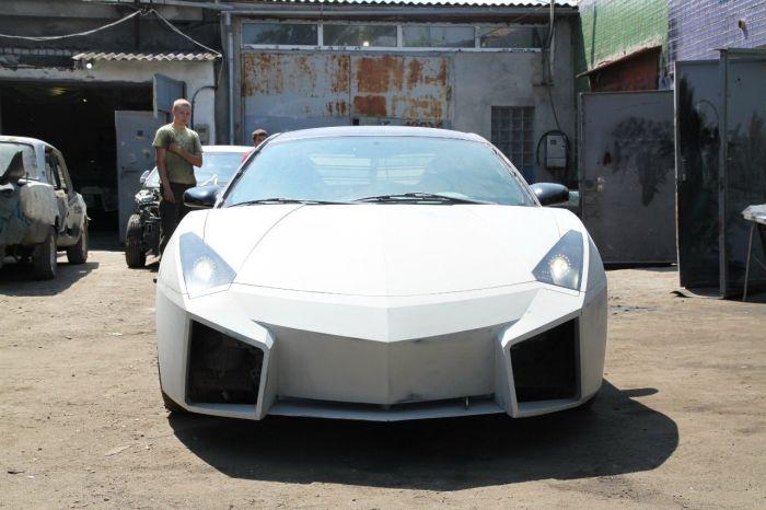 Como faz? Lamborghini Reventon genérica 44