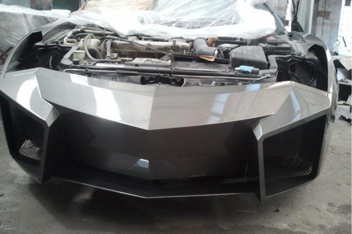 Como faz? Lamborghini Reventon genérica 47