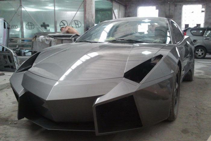 Como faz? Lamborghini Reventon genérica 49