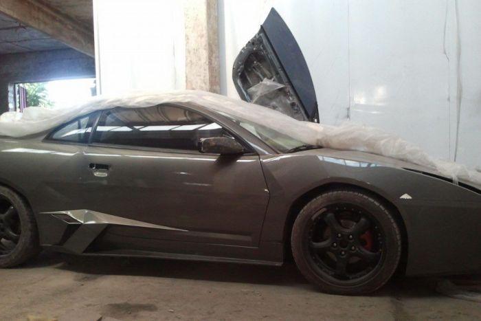 Como faz? Lamborghini Reventon genérica 50