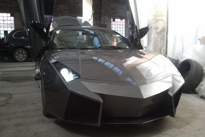 Como faz? Lamborghini Reventon genérica 53