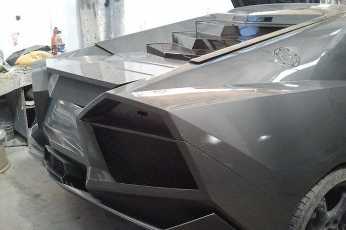 Como faz? Lamborghini Reventon genérica 54