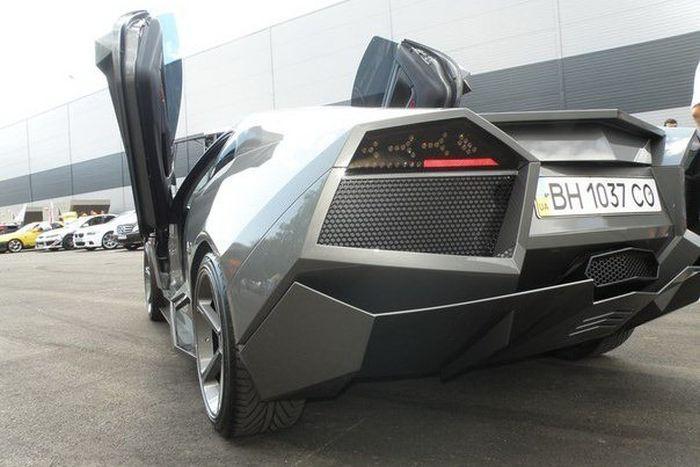 Como faz? Lamborghini Reventon genérica 57