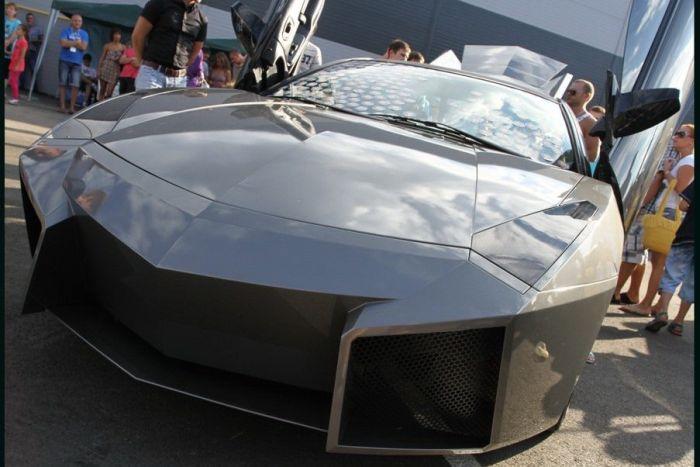 Como faz? Lamborghini Reventon genérica 58